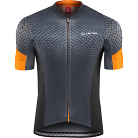 Löffler Pro Vent Bike Trikot Full-Zip Herren anthrazit/orange